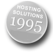 Hosting Solutions since 1995
